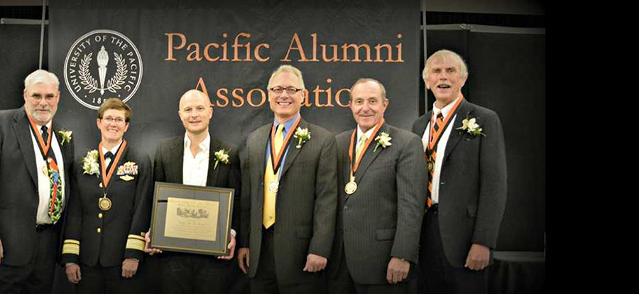 Distinguished Alumni Honored at Annual Awards Dinner