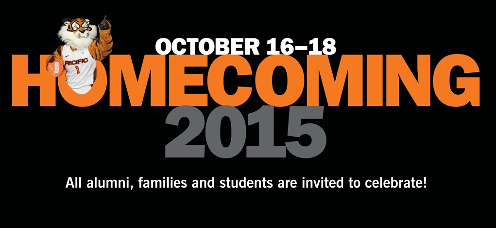 University of the Pacific - Homecoming 2015: October 16-18